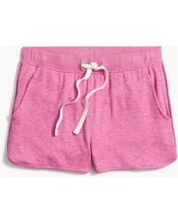 J.Crew Marled Short In Signature Cozy Yarn - Pink