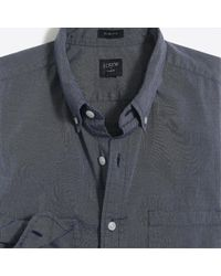 J.Crew - Slim-fit Flex Washed Shirt In End-on-end Cotton - Lyst