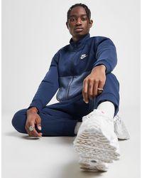 Nike Chariot Fleece Trainingsanzug Herren - Blau