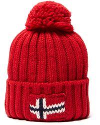 Napapijri - Semiury Bobble Hat - Lyst