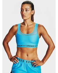 Under Armour Armour Mid Crossback Mf Sports Bra - Blue