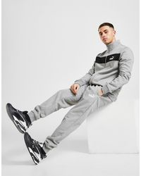 PUMA Fleece Tracksuit - Grey