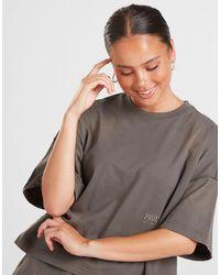 PUMA Washed Crop T-shirt - Black