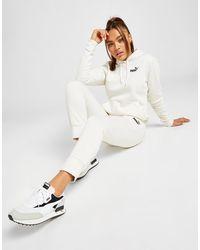 PUMA Core Fleece Sweatpants - White