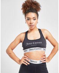 Juicy Couture Logo Sports Bra - Black
