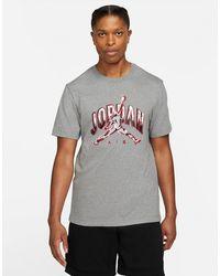 Nike Jordan Air Men's Short-sleeve T-shirt - Grey