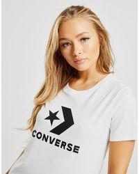 Converse Star Chevron Short Sleeve T-shirt - White