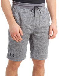 Under Armour - Fleece Poly Shorts - Lyst