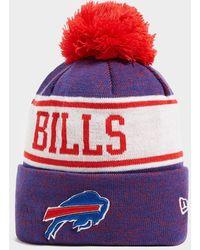 KTZ Nfl Buffalo Bills Pom Beanie Hat - Red