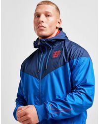Nike England Windrunner Jacket - Blue