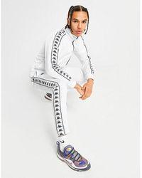 Kappa Authentic 222 Banda Astoria Poly Track Pants White/white