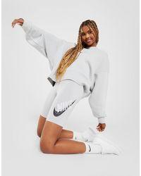 Nike Double Futura Cycle Shorts - Grey