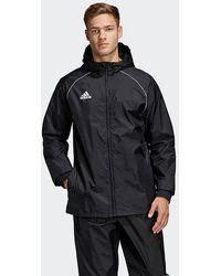 adidas Core 18 Rain Jacket - Black