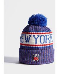 KTZ - Nfl Sideline New York Giants Beanie - Lyst