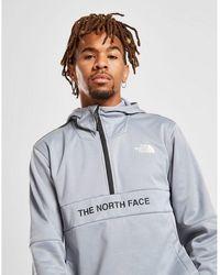 The North Face Train N Logo 1/4 Zip Hoodie - Gray
