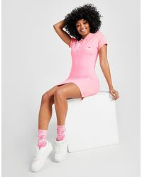 Ellesse Pipe Polo Dress - Pink