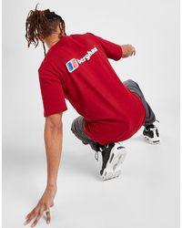 Berghaus Large Back Logo T-shirt - Red