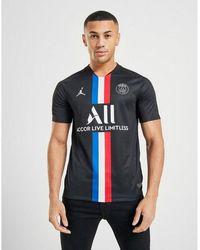 Nike X Paris Saint Germain 2020 Fourth Shirt - Black