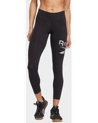 Reebok Identity Logo leggings - Black