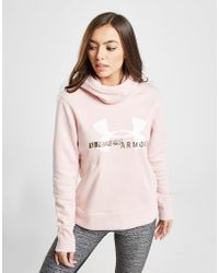 Under Armour - Rival Overhead Hoodie - Lyst