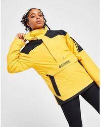 Columbia 1/2 Zip Logo Jacket - Yellow