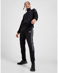 adidas 3-stripes Poly Track Pants - Black