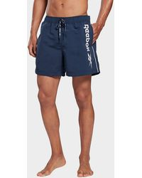 Reebok Worrall Swim Shorts - Blue