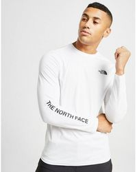 The North Face Long Sleeve T-shirt - White