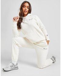 Champion Core Logo Sweatpants - White