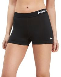 "Nike - Pro 3"" Shorts - Lyst"