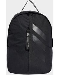 adidas Classic 3-stripes At Side Backpack - Black
