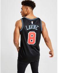 sports shoes ac9c8 6fdf8 Nba Chicago Bulls Lavine City Jersey - Black