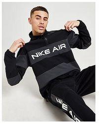 Nike Air Woven 1/2 Zip Sweatshirt - Negro