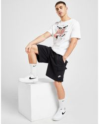 Nike Sportswear Club Fleece Cargo Shorts - Black