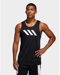 adidas Originals Sport 3-stripes Tank Top - Black