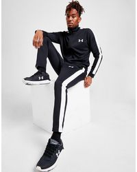 Under Armour Poly Tracksuit - Black