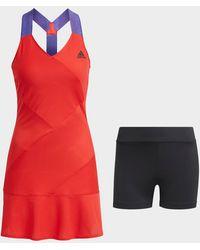 adidas Tennis Primeblue Y-dress - Red