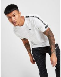 Nike Repeat All Over Print T-shirt - White