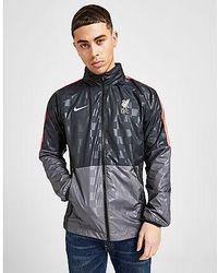 Nike Liverpool FC AWF Herren-Fußballjacke - Grau