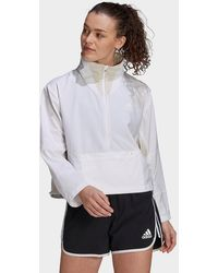 adidas Primeblue Adapt Running Jacket - White