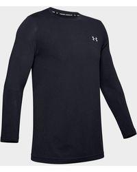 Under Armour Seamless Long Sleeve T-shirt - Black