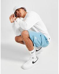 Nike Sportswear Club Fleece Cargo Shorts - Blue
