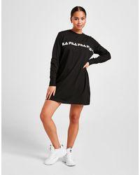 Fila Repeat Long Sleeve Dress - Black
