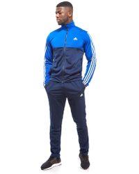 adidas - Back 2 Basics Track Suit - Lyst