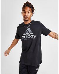 adidas Badge Of Sport Fade T-shirt - Black