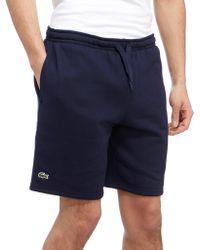 Lacoste Short Premium Fleece Homme - Bleu
