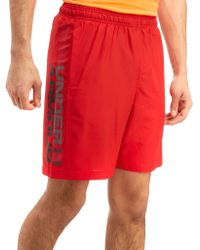 Under Armour - Wordmark Shorts - Lyst