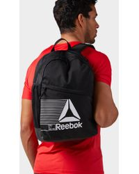 Reebok On-the-go Backpack With Storage - Black