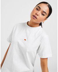 Ellesse Core Logo Boyfriend T-shirt - White