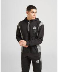 adidas Originals Id96 1/4 Zip Hoodie - Black
